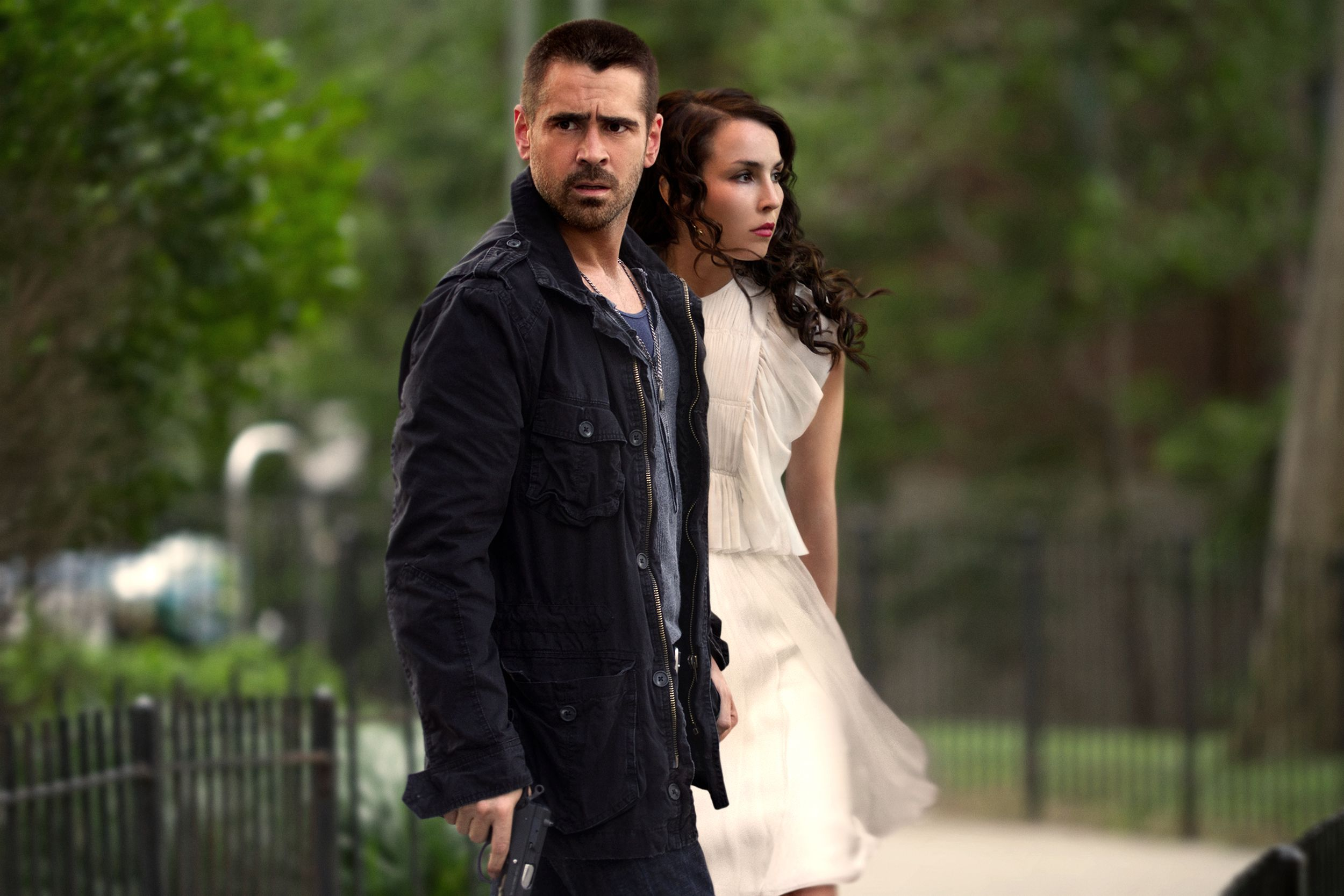 Noomi Rapace Talks Dead Man Down Working With Colin Farrell And