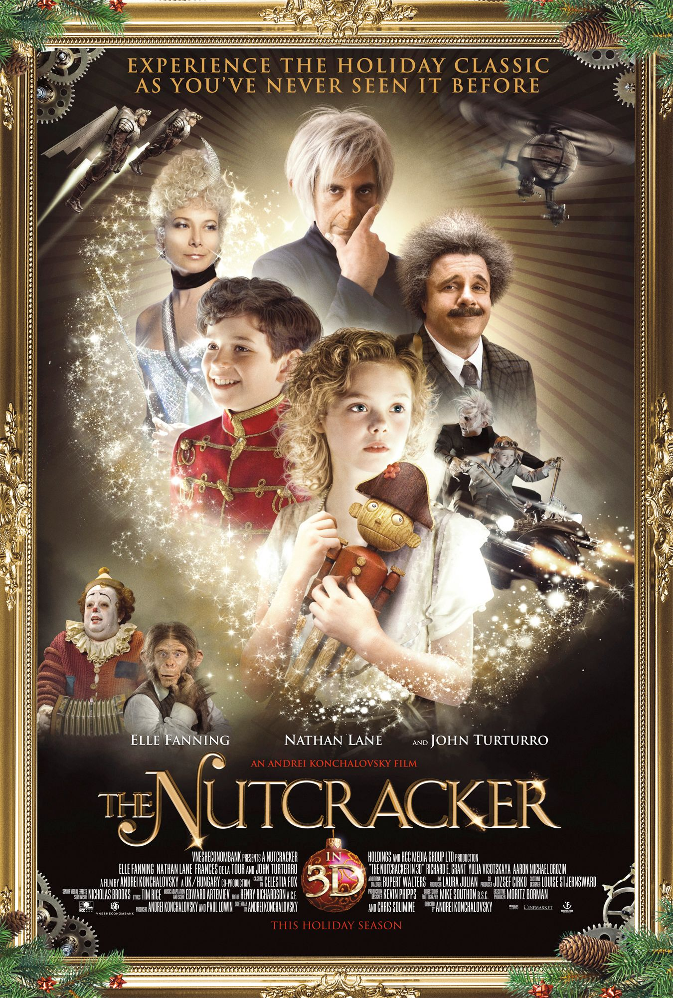 new posters for faster the nutcracker in 3d and priest collider. Black Bedroom Furniture Sets. Home Design Ideas