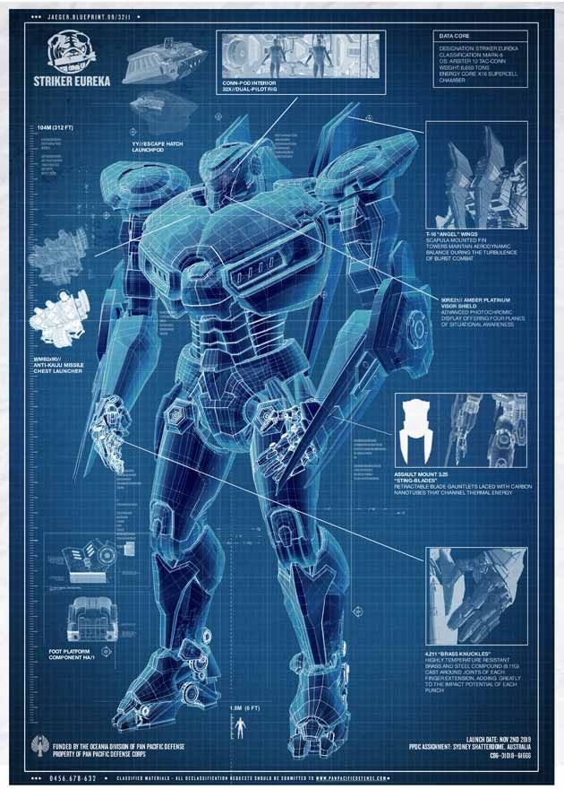 pacific rim jaeger blueprint pacific rim jaeger blueprint for