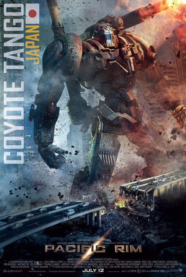PACIFIC RIM Posters Feature All Five Jaegers | Collider Pacific Rim Jaeger Posters