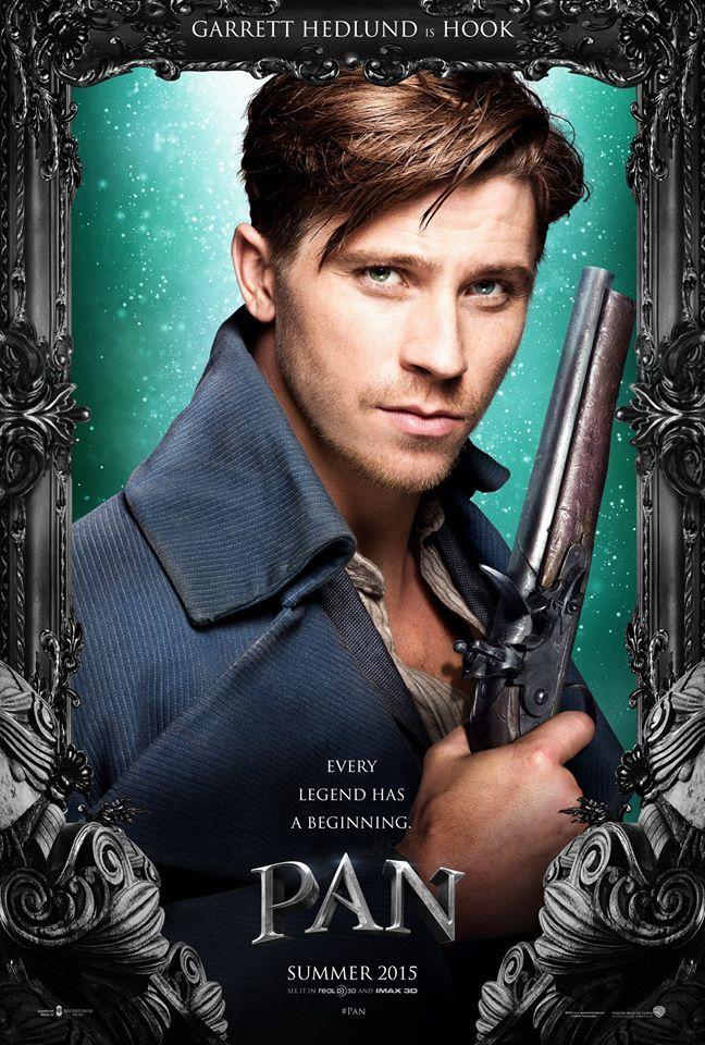 Pan: Garrett Hedlund Talks Hook's Origin, Sequels, and ...