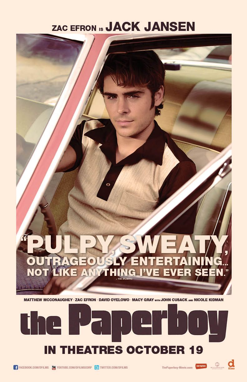 paper boy movie The paperboy (2012):a reporter returns to his florida hometown to investigate a case involving a death row inmate.