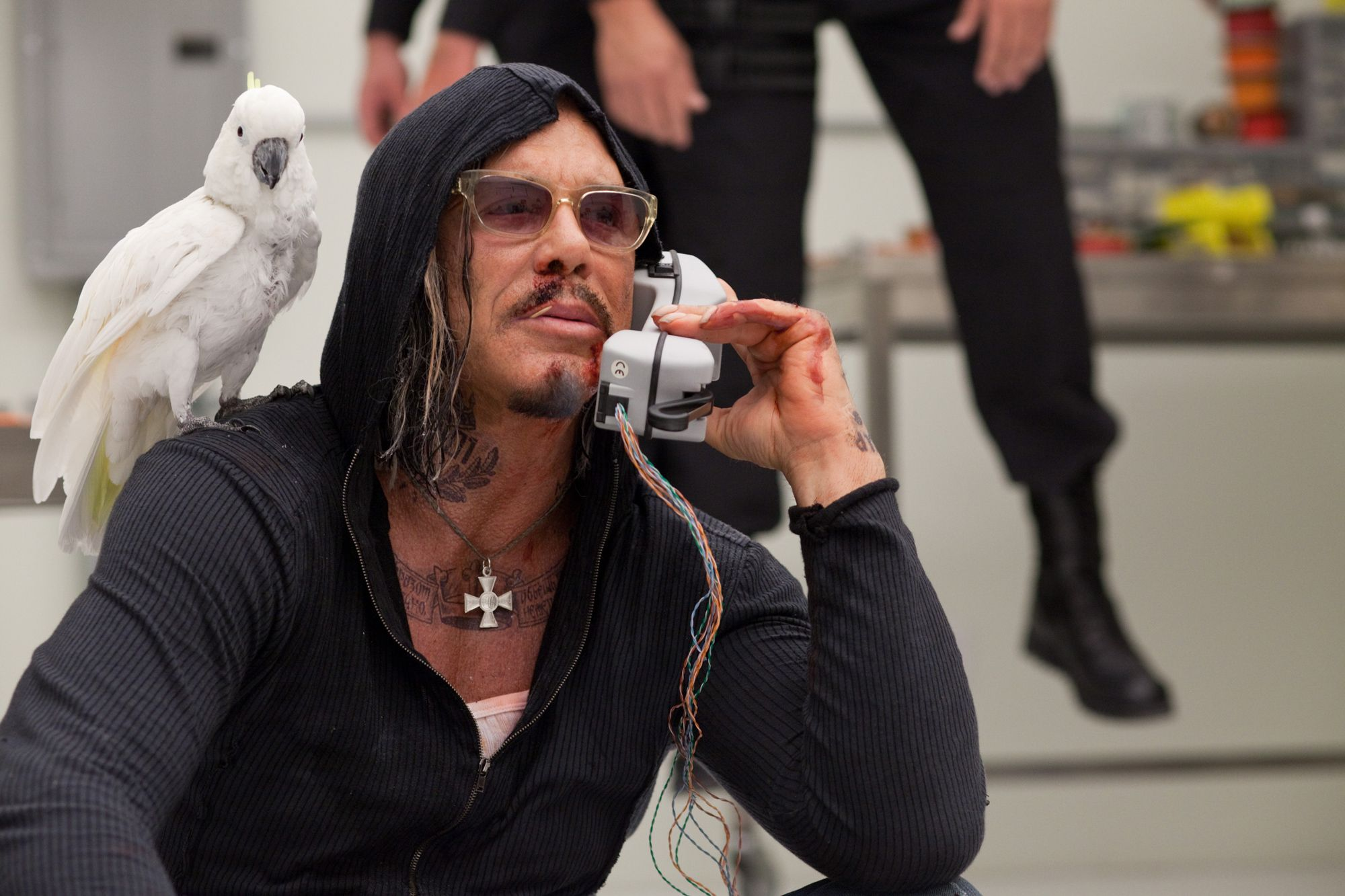 Mickey Rourke Takes Seven Psychopaths Over The Expendables 2 Collider