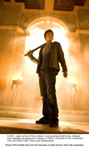 Percy Jackson & The Olympians: The Lightning Thief movie image Logan Lerman
