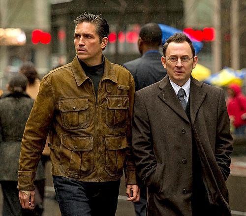 PERSON OF INTEREST Jim Caviezel Michael Emerson