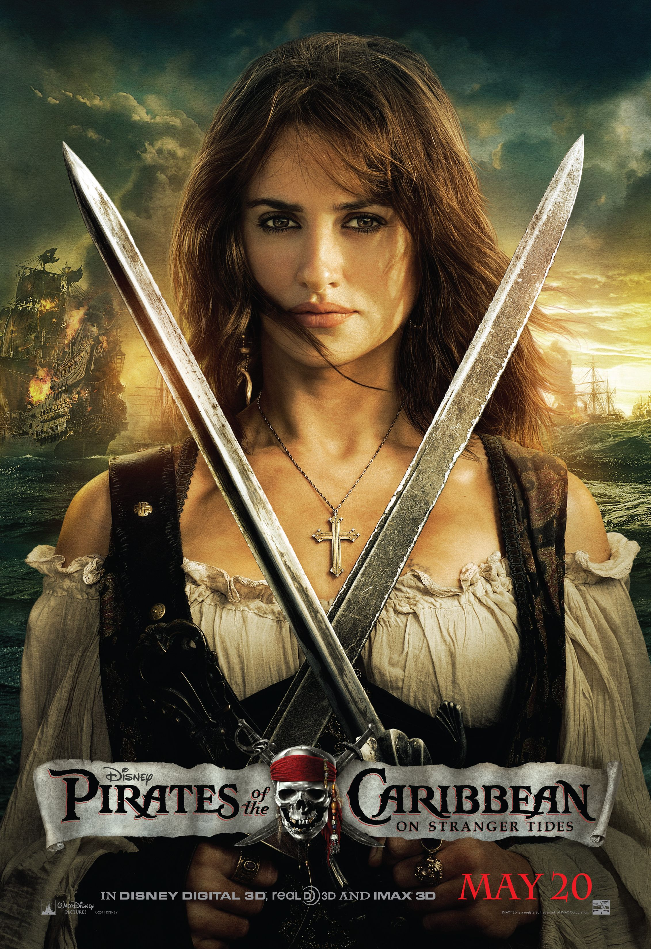 PIRATES OF THE CARIBBE... Penelope Cruz Movies