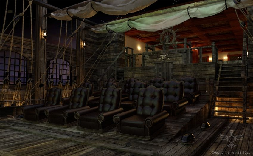 Pirates Of The Caribbean Theater Image
