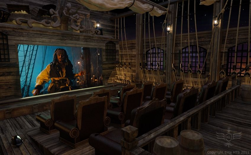 Pirates Of The Caribbean Theater