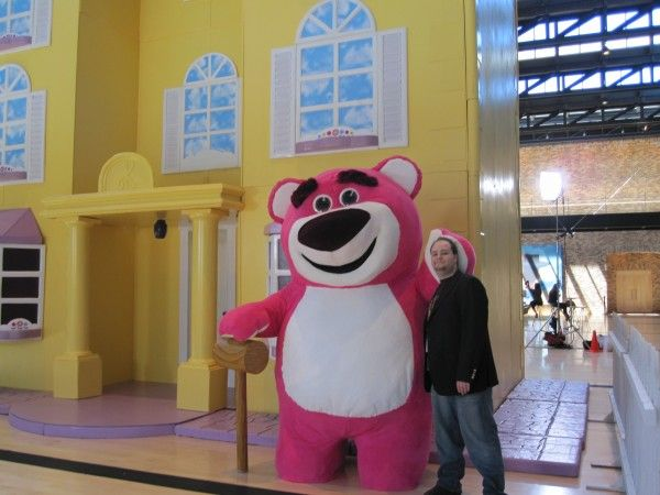 """Toy Story 3's"" villain Lotso isn't so bad once you get to know him.  And he smells like strawberries!"