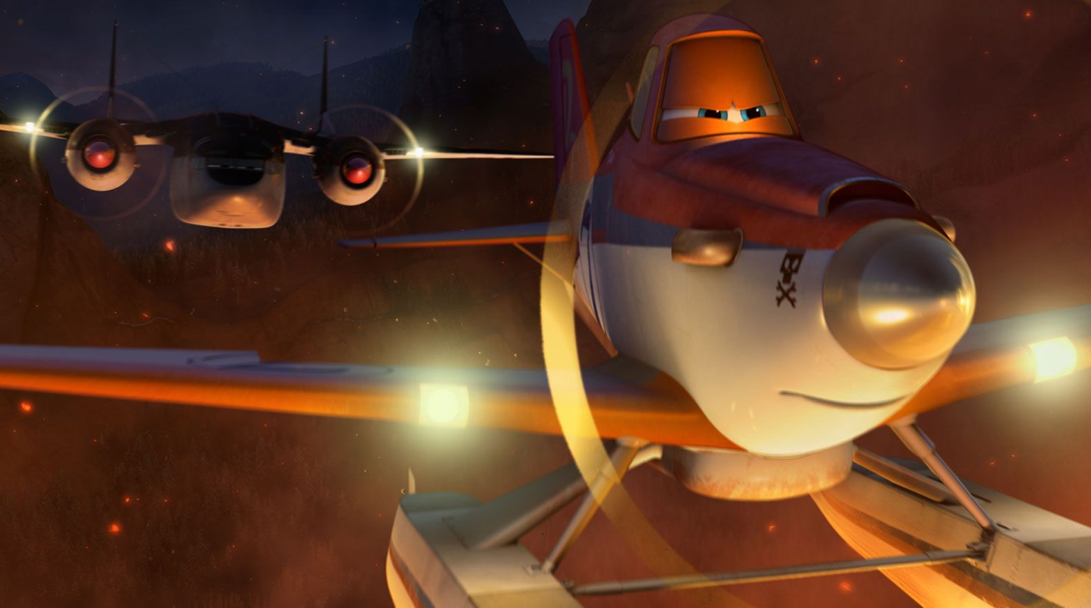 julie bowen talks planes fire and rescue and modern