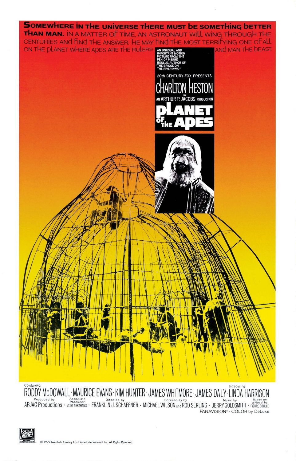 planet of the apes review the 1968 film stars charlton