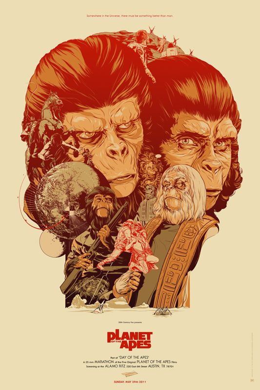 battle for the planet of the apes mondo poster collider
