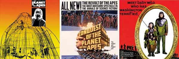 Planet of the Apes Film Posters