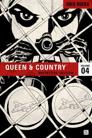 queen and country comic book cover