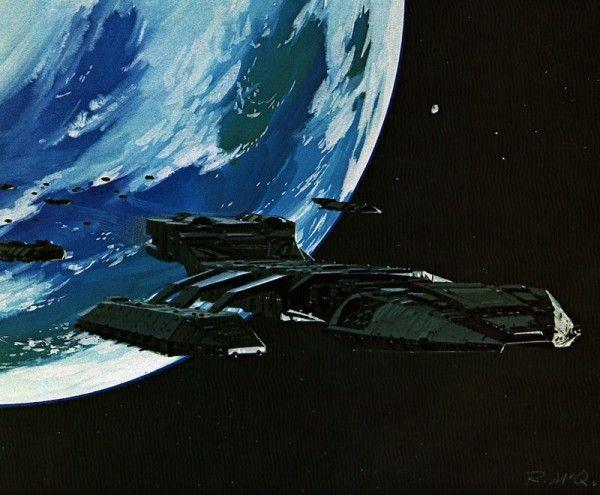 ralph mcquarrie battlestar galactica 2