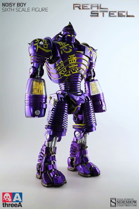 Real Steel Noisy Boy Figure From Sideshow Collectible