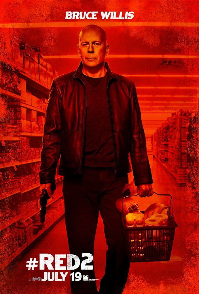 RED 2 Posters. RED 2 Stars Bruce Willis and John Malkovich ...