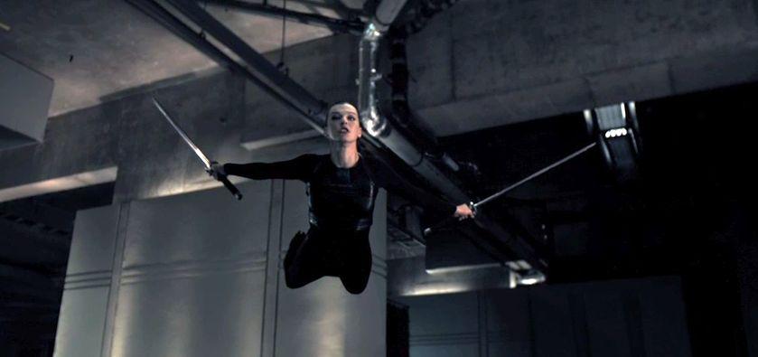 Milla Jovovich On Set ... Milla Jovovich Resident Evil Movie