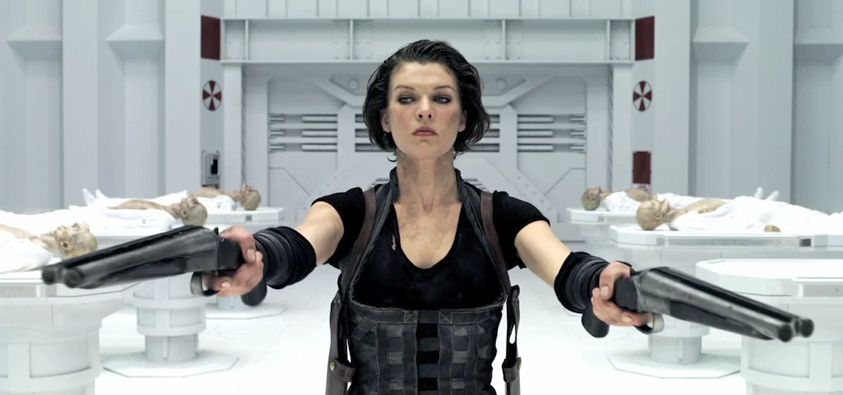 Wentworth Miller On Se... Milla Jovovich Resident Evil Cast