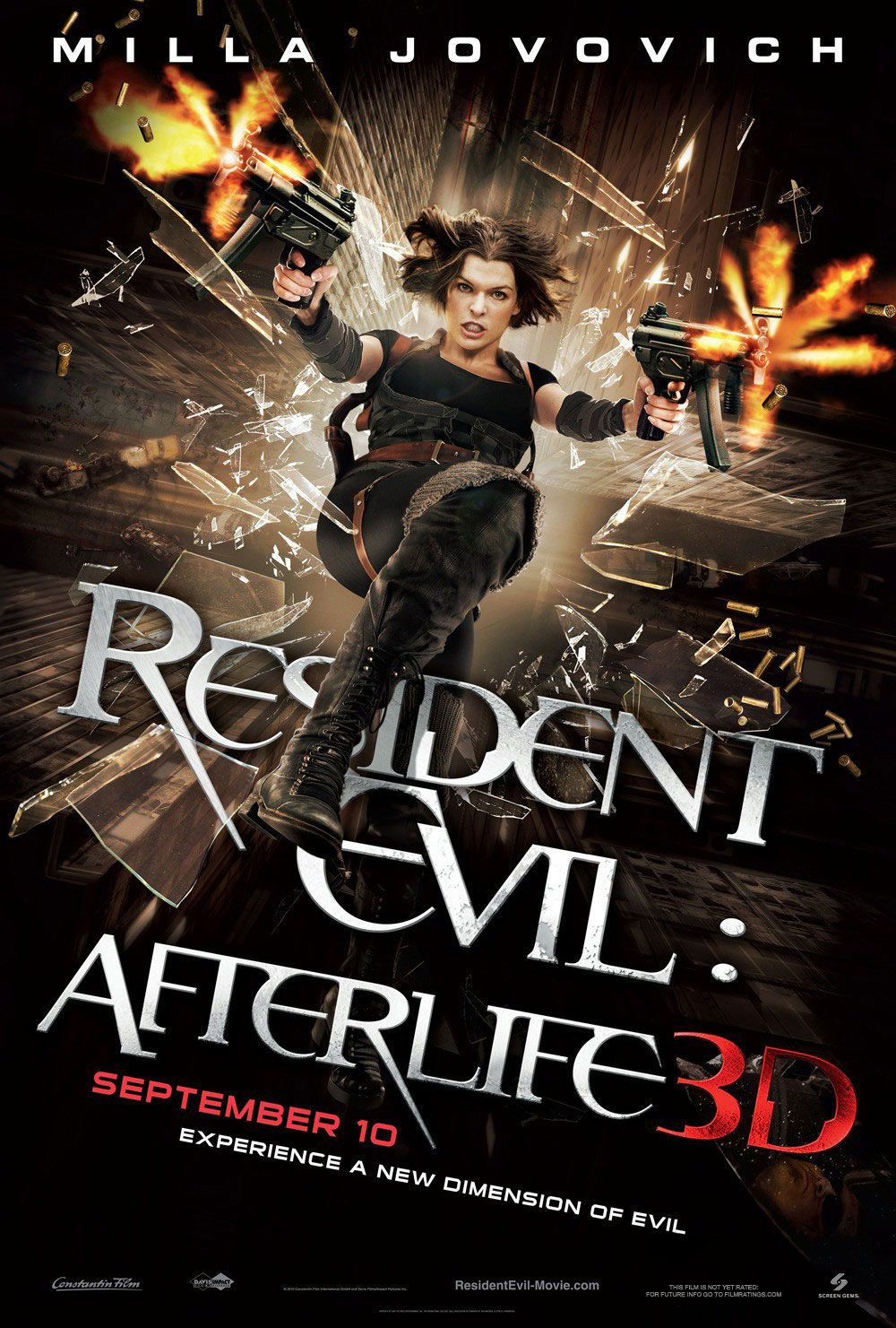 New Poster for RESIDENT EVIL: AFTERLIFE 3D Starring Milla ...