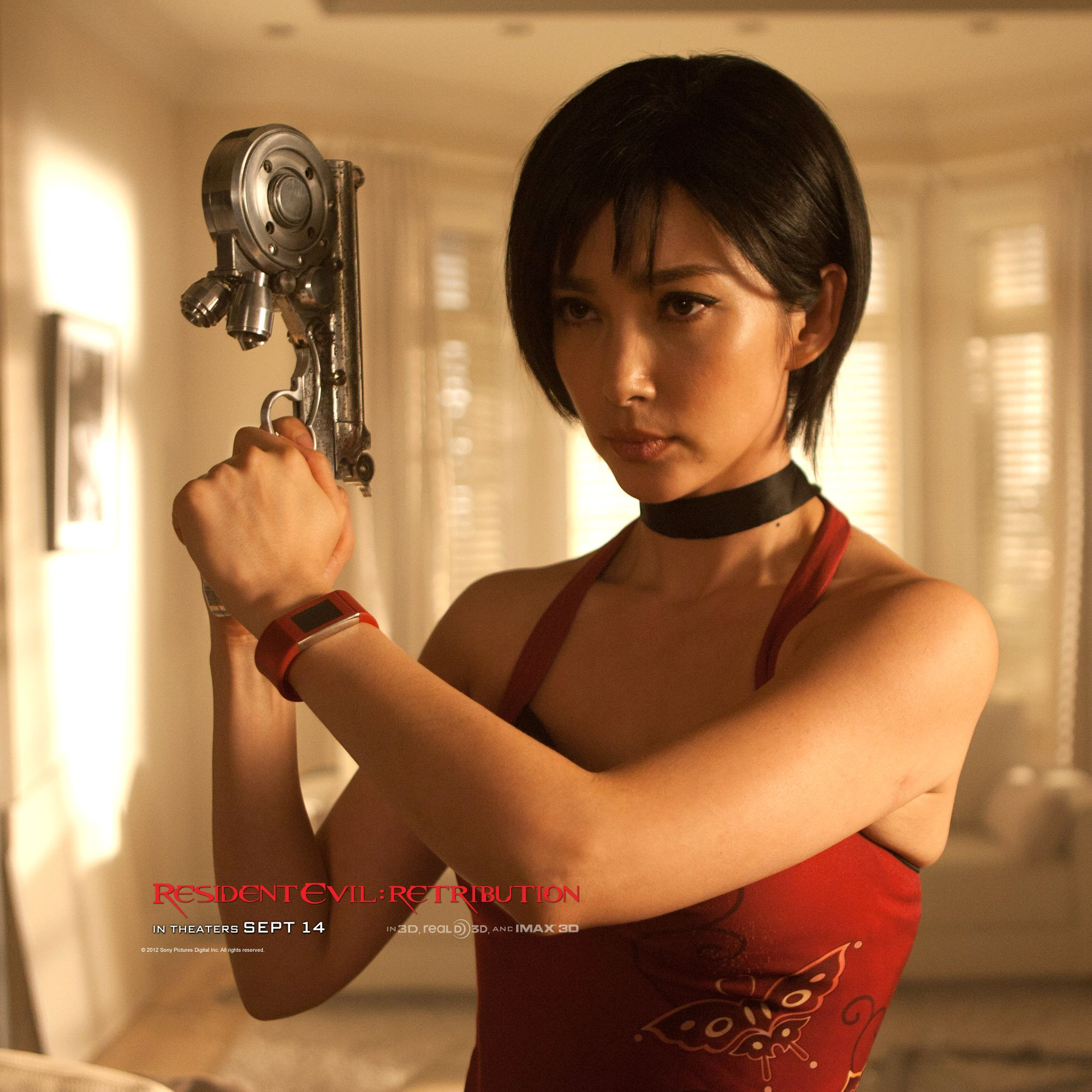 resident evil retribution images featuring michelle