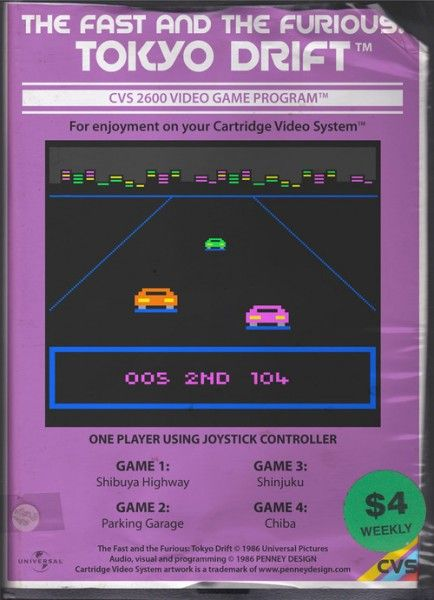 Retro Games With Modern Themes The Fast and the Furious Tokyo Drift