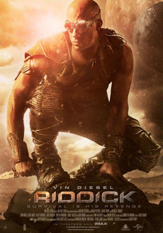 PACIFIC RIM Posters and RIDDICK Poster. RIDDICK Stars Vin ...