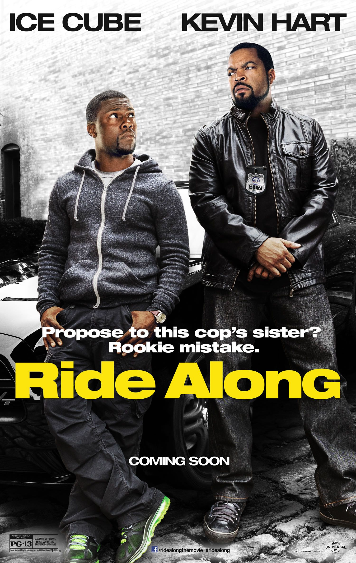 Ride Along Interview Kevin Hart Talks Buddy Cop Comedies On Set