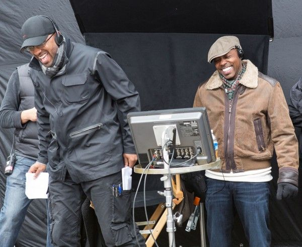 ride-along-tim-story-kevin-hart-set-photo