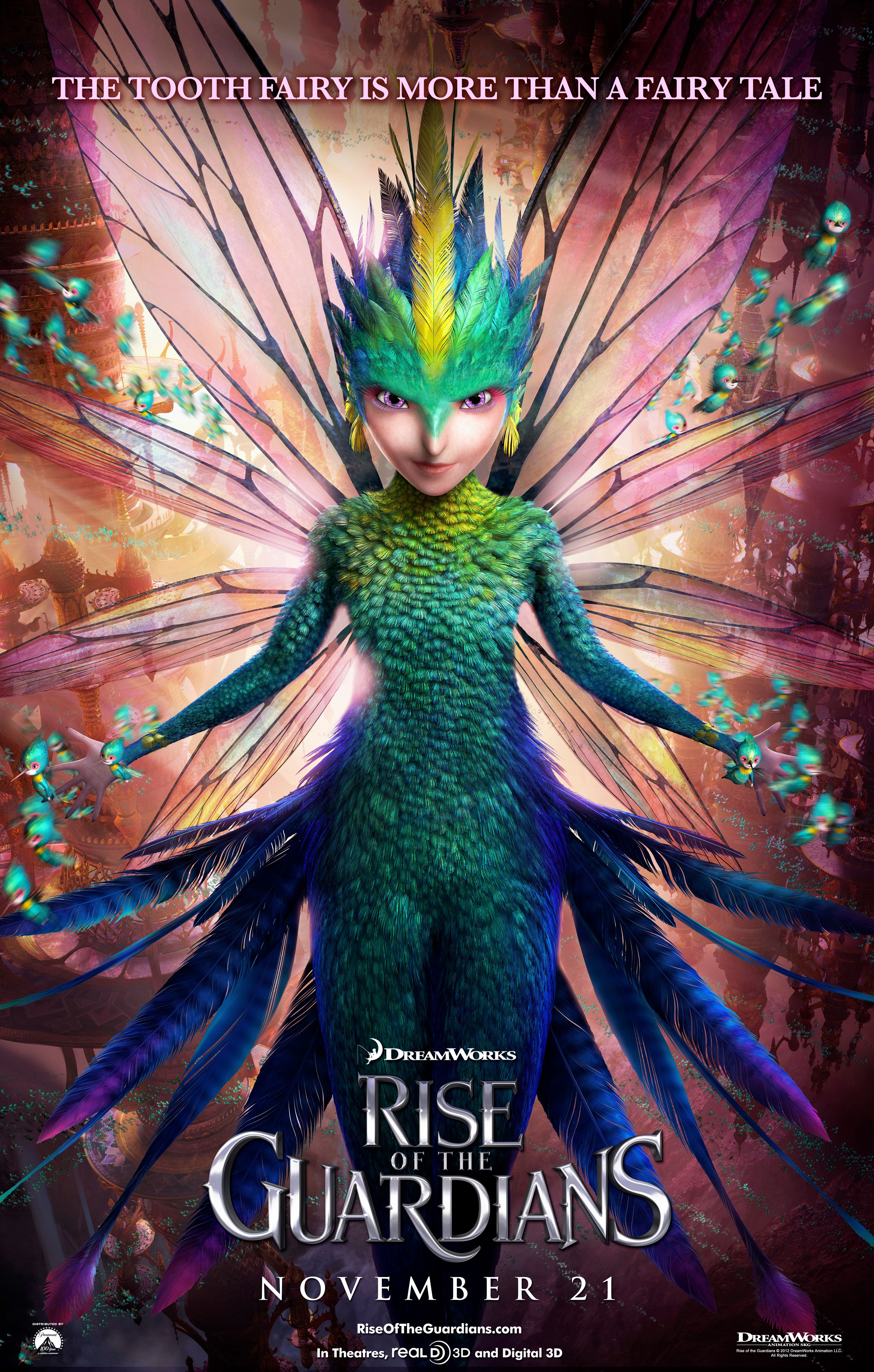 rise of the guardians character posters collider