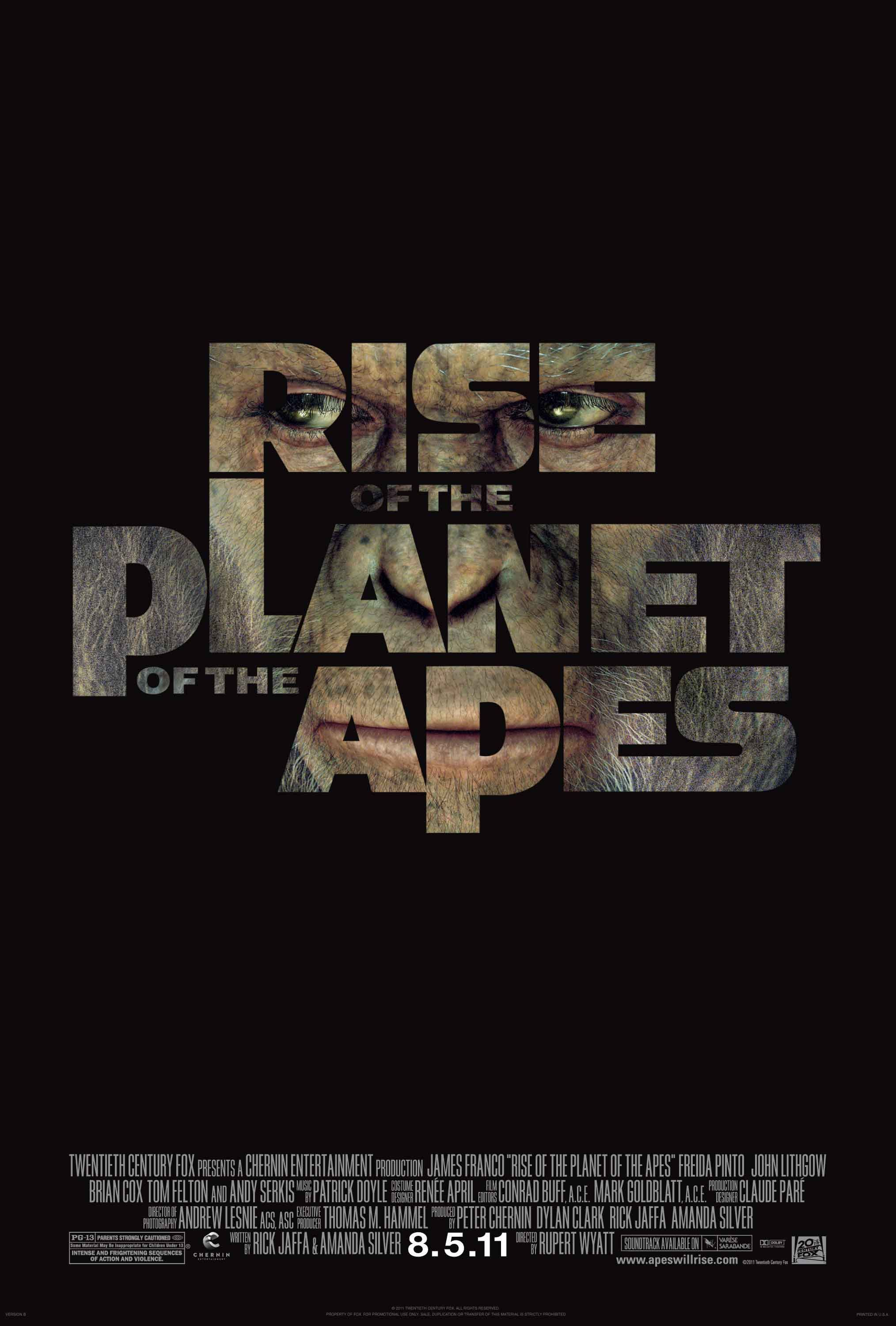 rise of the planet of apes 2011-8-30  rise of the planet of the apes is packing them in at box offices everywhere, bringing with it a unique animal rights message activist loredana loy provides insight into the film, including her thoughts on the power that the animal liberation theme carries, as well as a critique of where it falls short.