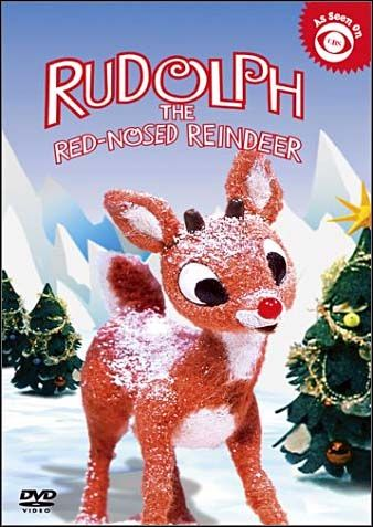 rudolph the red nosed reindeer dvd cover