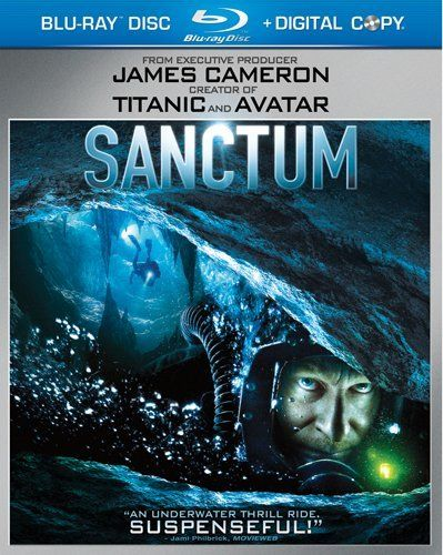 sanctum blu ray review collider sanctum blu ray cover image