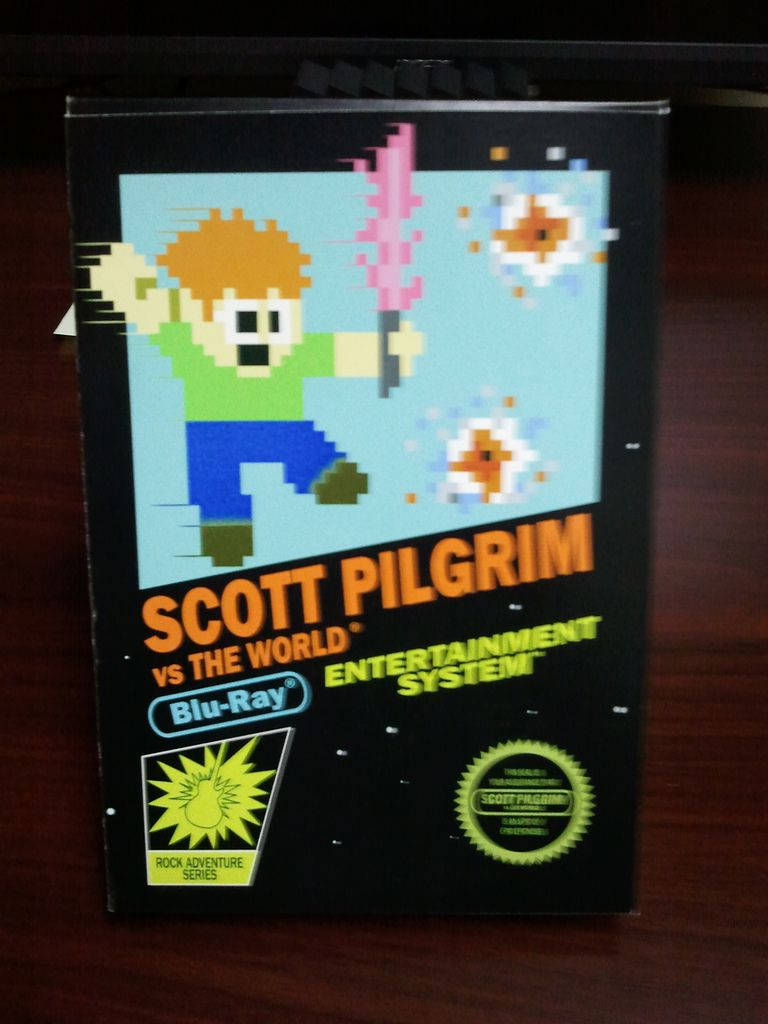 scott pilgrim vs  the world custom nintendo