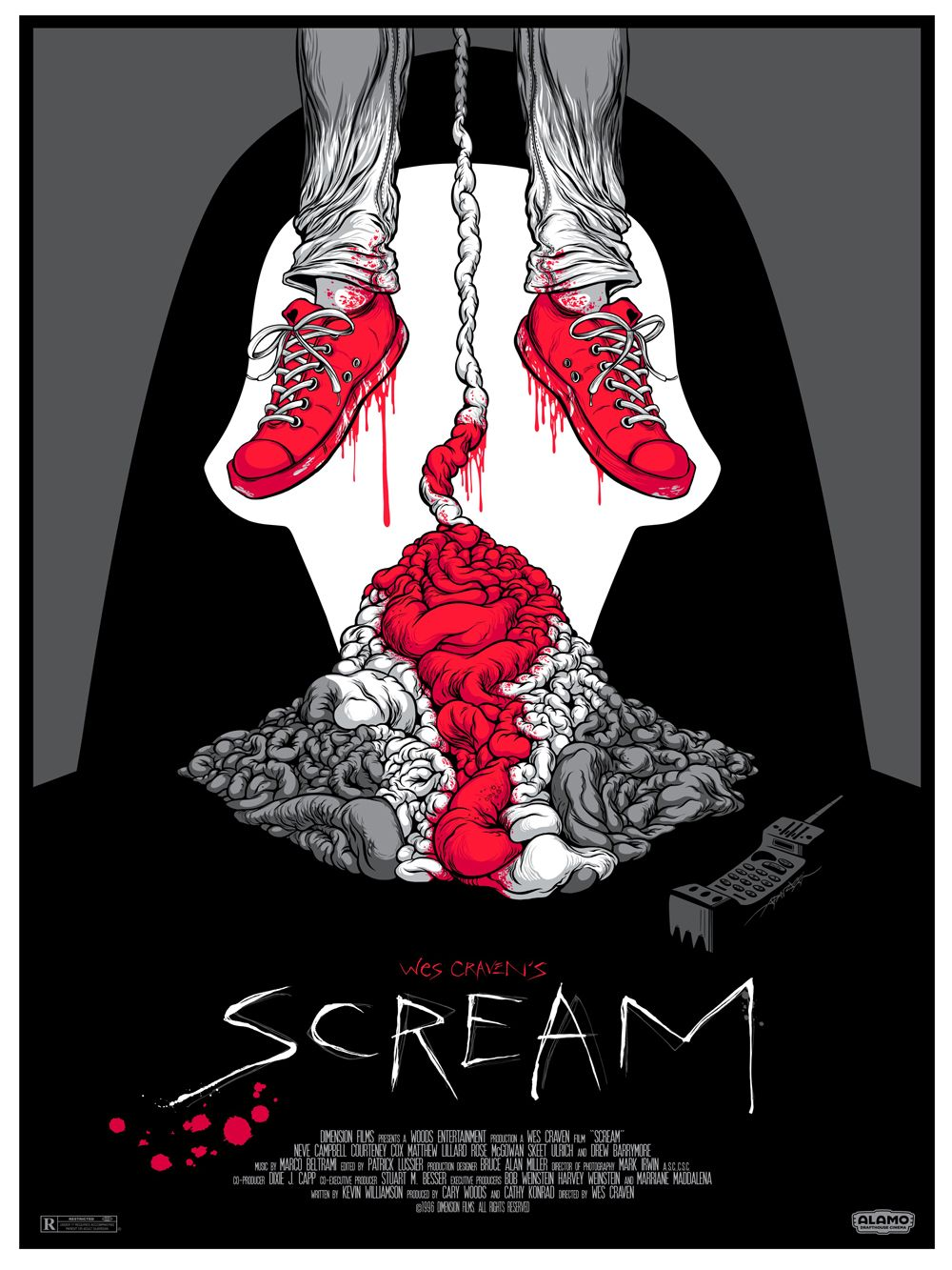 A NIGHTMARE ON ELM STREET and SCREAM Mondo Posters Alex ...