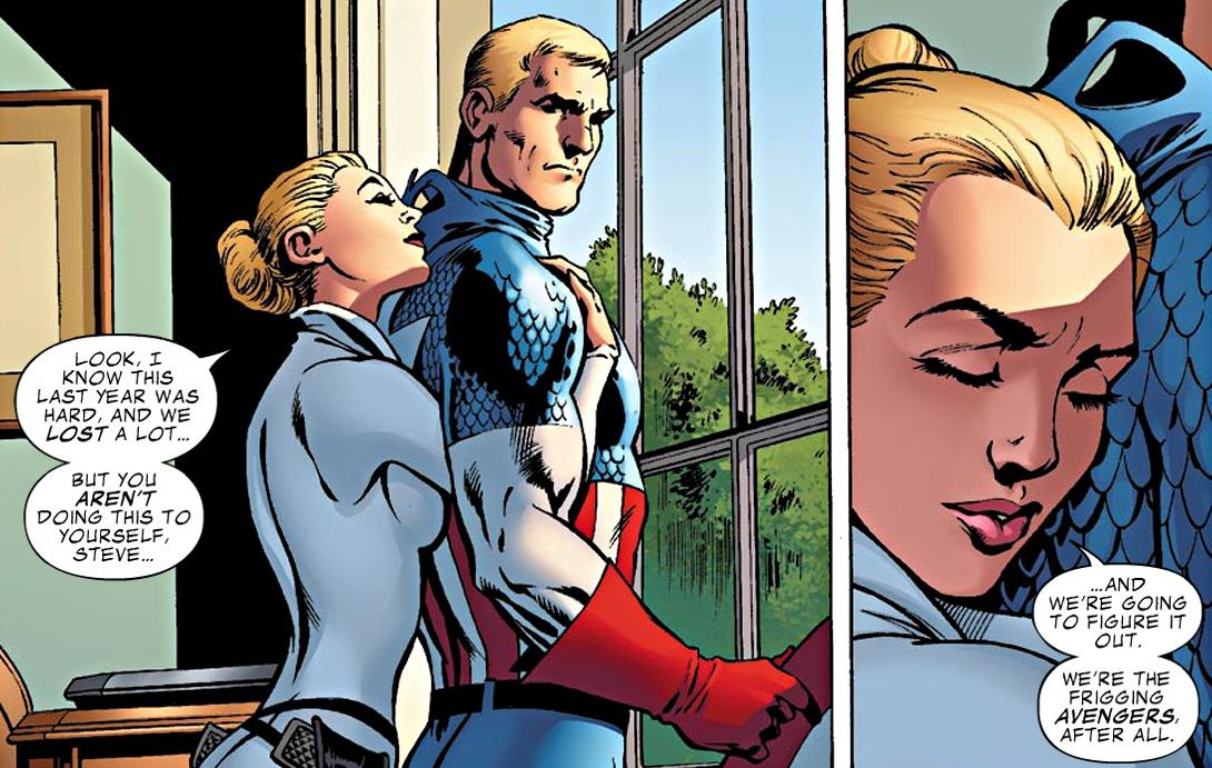captain marvel x captain america