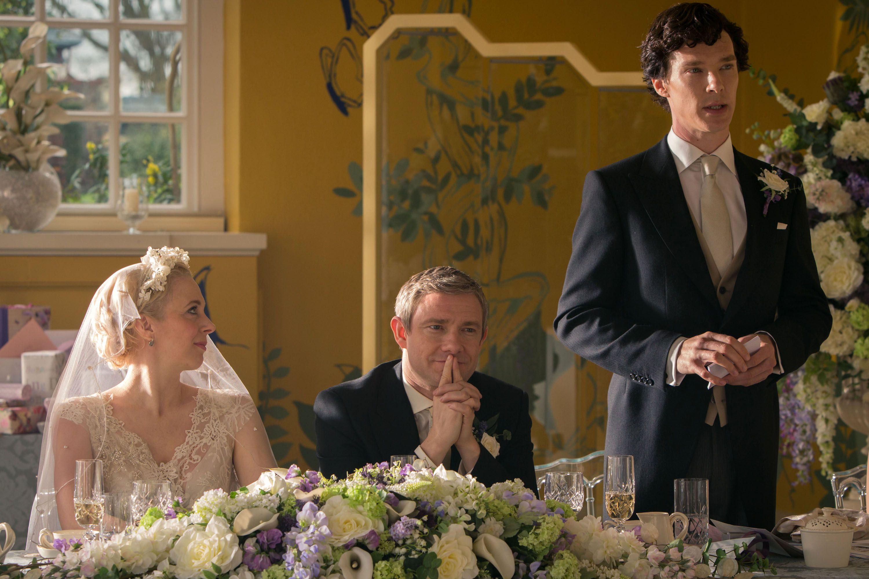 Amanda Abbington Sherlock Wedding Sherlock Interv...
