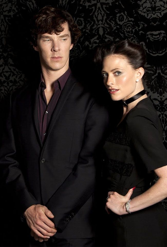 Lara Pulver Talks Season Two of SHERLOCK  Making Her American TV Debut    Lara Pulver And Benedict Cumberbatch