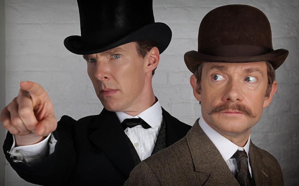 First Sherlock Christmas Special Image Featuring Benedict ...
