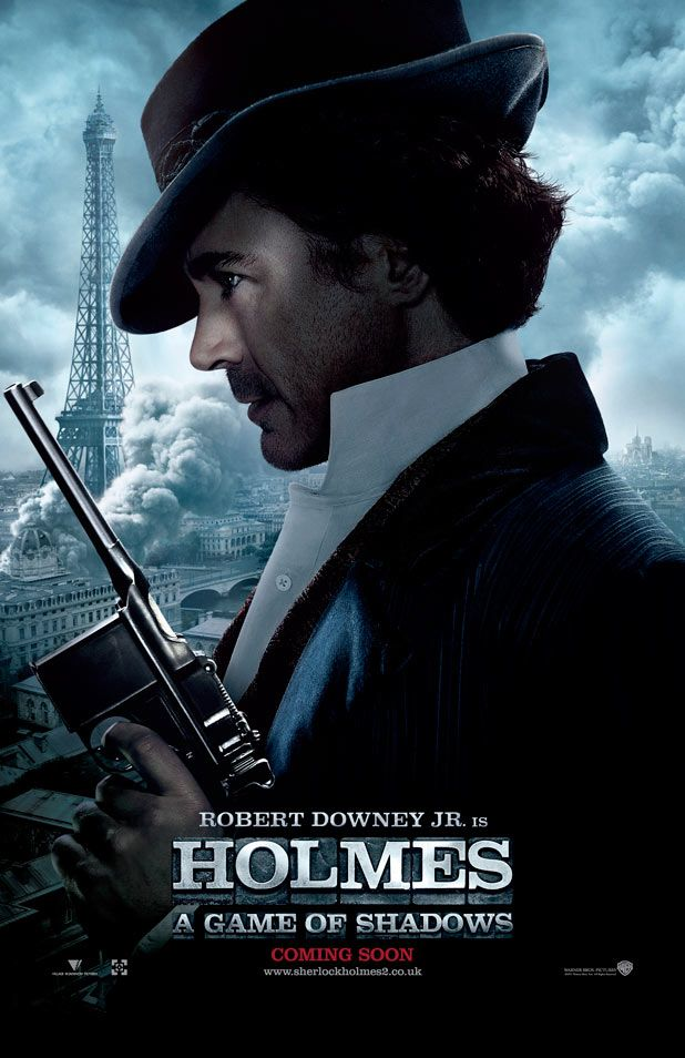 SHERLOCK HOLMES 2 Movie Posters | Collider