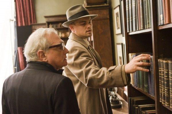Shutter Island Movie image Leonardo DiCaprio, Martin Scorsese