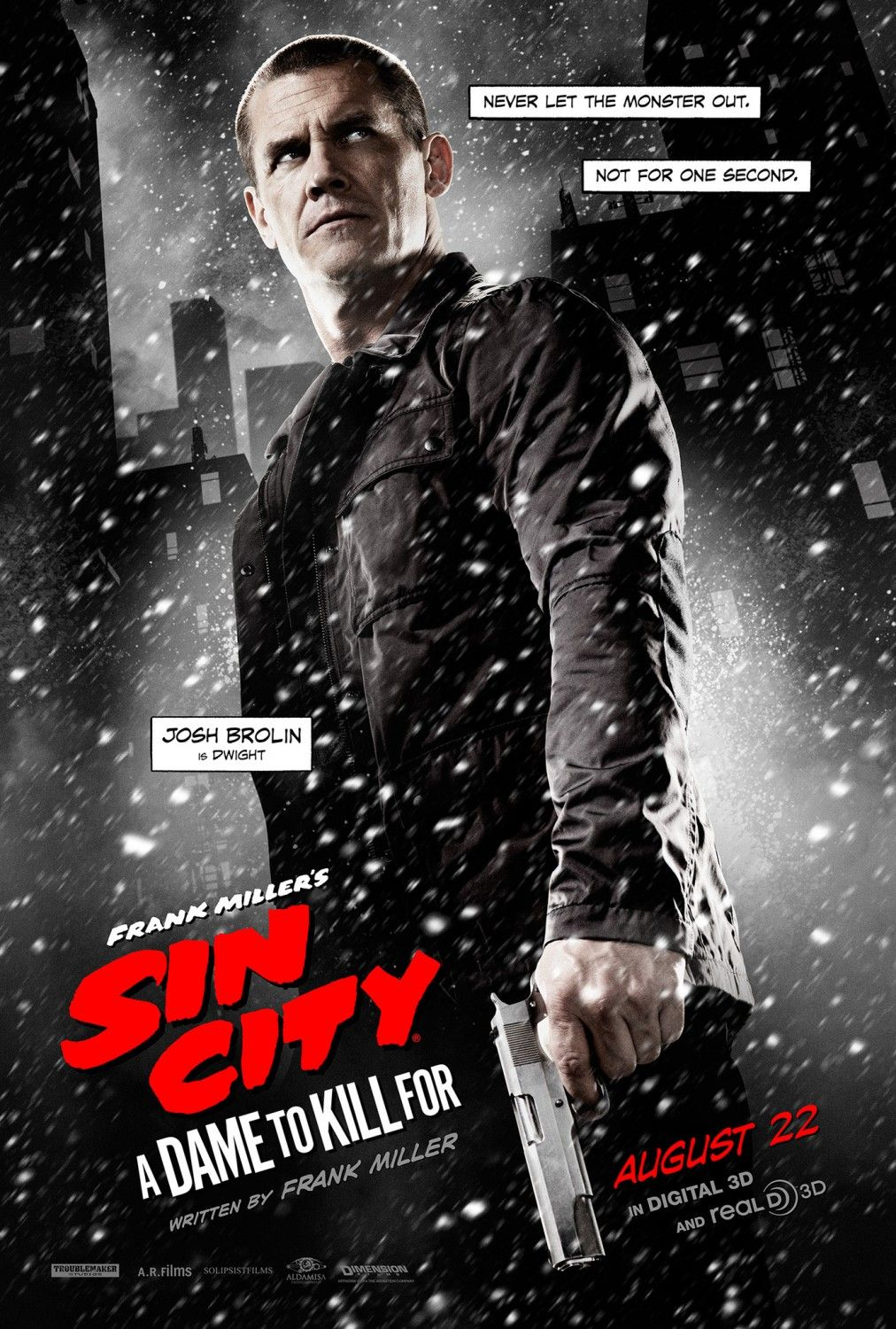 5 New SIN CITY: A DAME TO KILL FOR Posters Featuring ...