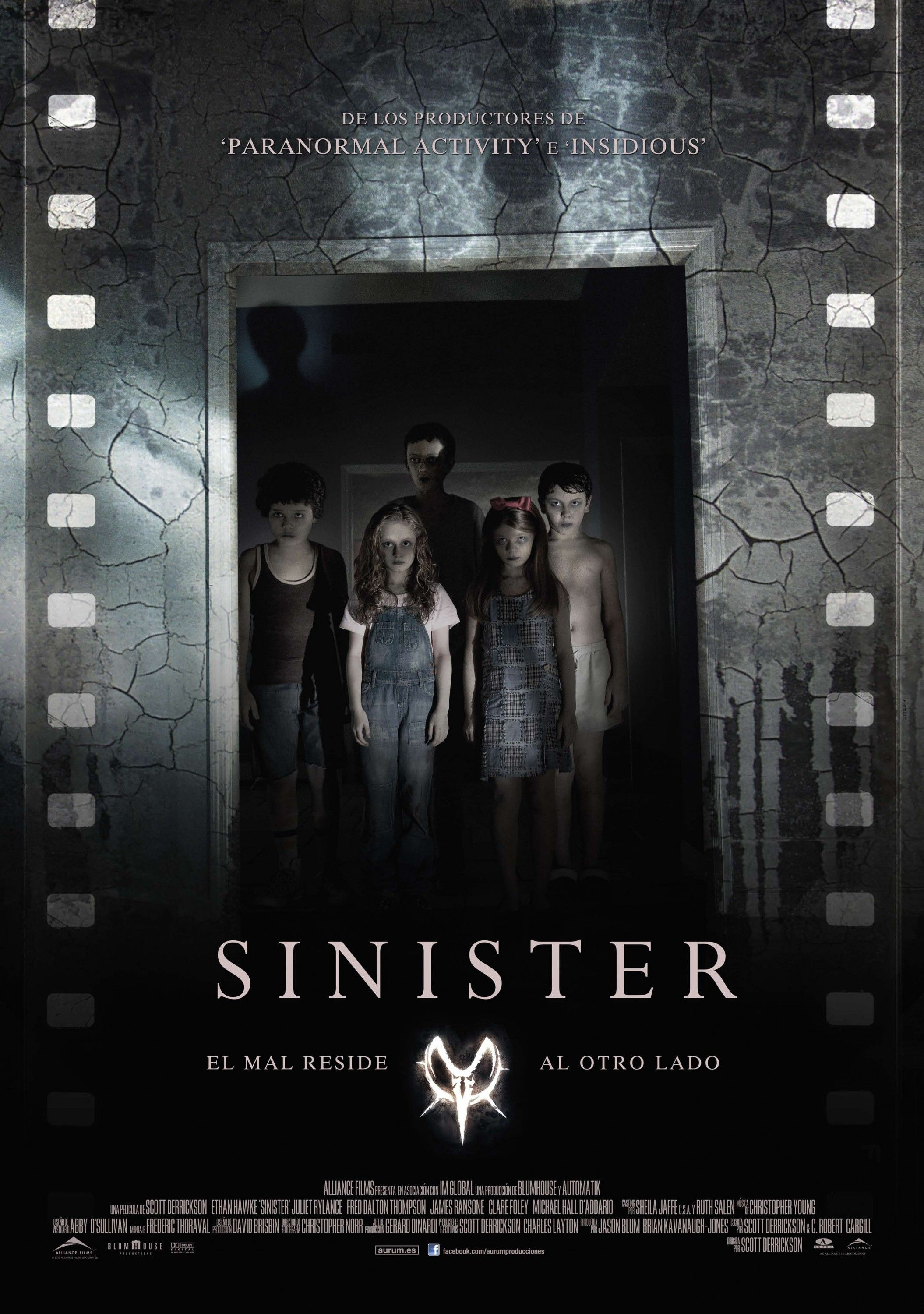 New Posters for SINISTER, HOTEL TRANSYLVANIA, RUST AND ...