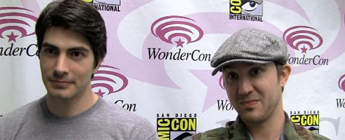 Brandon Routh and Sam Huntington Interview DYLAN DOG WonderCon slice