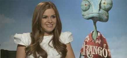 Isla Fisher Video Interview RANGO slice