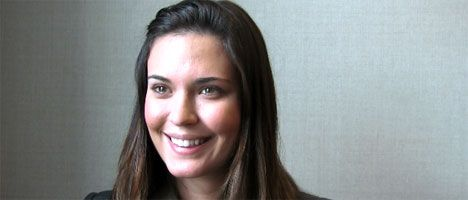 Odette Annable interview BREAKING IN WonderCon 2011 slice 2