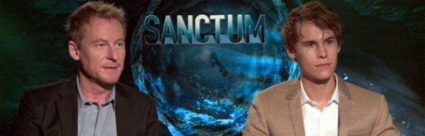 Rhys Wakefield & Richard Roxburghh Interview SANCTUM slice