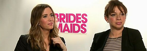 Kristen Wiig Maya Rudolph interview Bridesmaids slice