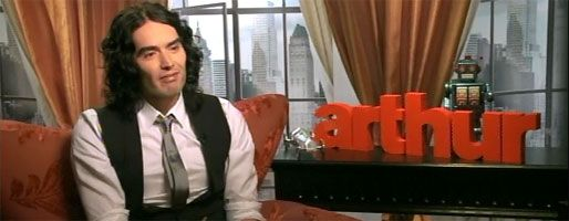Russell Brand interview ARTHUR, Karaoke, Infant Sorrow slice