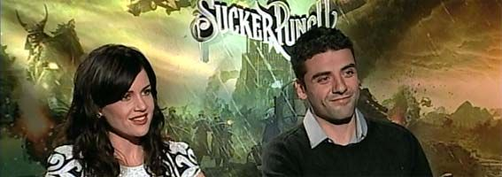 Carla Gugino and Oscar Isaac Interview SUCKER PUNCH slice
